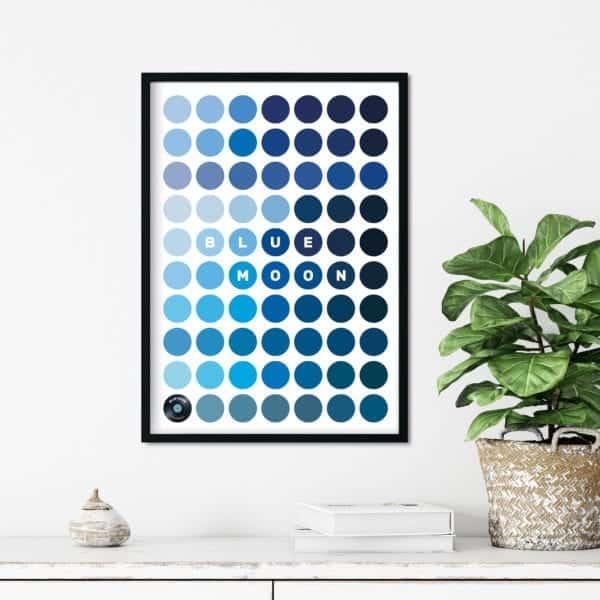 BlueMoon-Framed