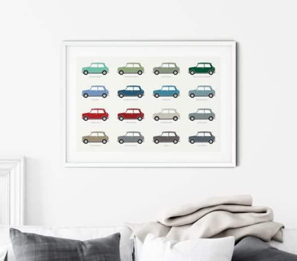 Mini-Colours-Framed