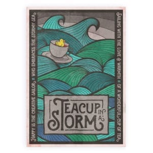 TeaCup-Turquoise