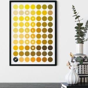 Yellow-Framed