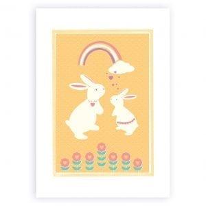 Bunny-Peach