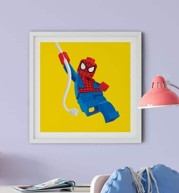 Scene-LEGO-Spider